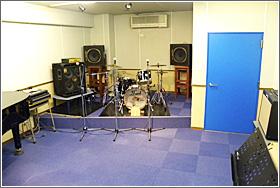 リハーサルスタジオ「ブルースタジオ」写真