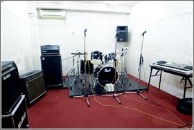 リハーサルスタジオ「レッドスタジオ」写真